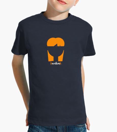 Ropa infantil Camiseta Niño Azul karolkonk