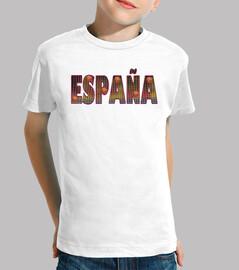 Camiseta niño Basket España
