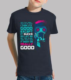 Camiseta niño clásica Star Lord