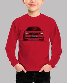 Camiseta niño con mi dibujo del Audi TT