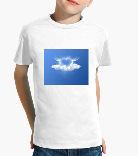 Ropa infantil Camiseta niño Cuore blue