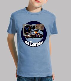 Camiseta niño DeLorean