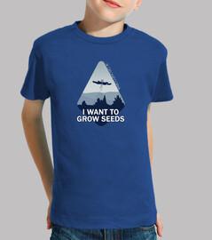 Camiseta niño Dronecoria Expediente X Ovni