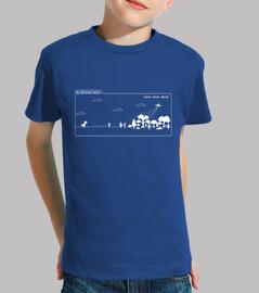 Camiseta niño Dronecoria T-Rex Chrome
