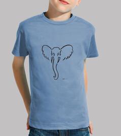 camiseta niño elefante