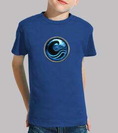 Camiseta niño Escudo Poseidón