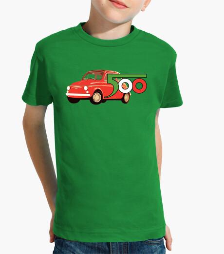 Ropa infantil camiseta niño fiat 500