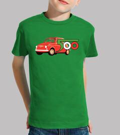 camiseta niño fiat 500