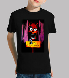 Camiseta Niño FOXY FNAF Sorry! Out of order!