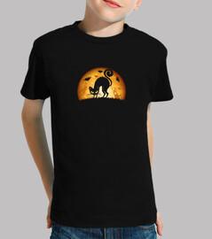 camiseta niño halloween