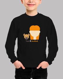 Camiseta Niño Invierno Karolkonk y TRavis