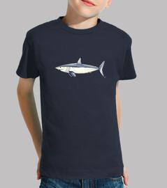 Camiseta Niño, manga corta, azul marino
