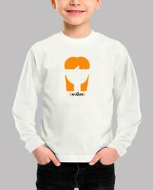 Camiseta Niño manga corta blanca karolkonk