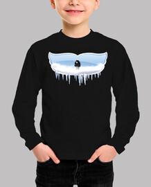 Camiseta niño manga corta con diseño Snow Snow Mr Jon
