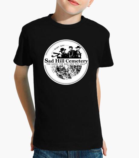 Ropa infantil Camiseta niño manga corta Sad Hill logo