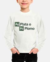 Camiseta niño, manga larga.
