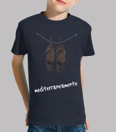 Camiseta niño Mediterraneamente