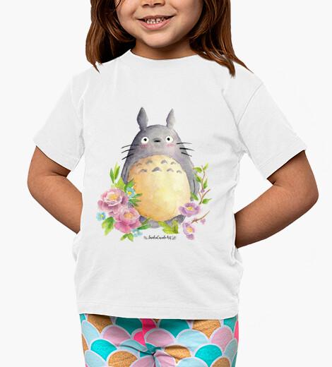 Ropa infantil Camiseta niño Mi Vecino Totoro