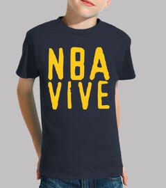 CAMISETA NIÑO, NBA VIVE