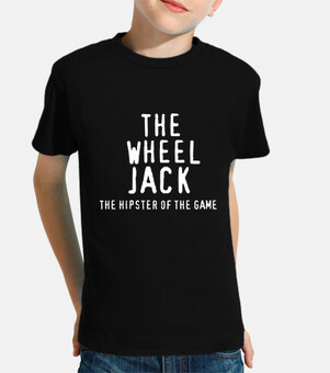Camiseta Niño Negra The WheelJack