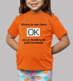 Camiseta niño niña Humor OK