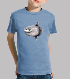 Camiseta niño Pez luna (Mola mola)