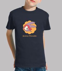 Camiseta niño Quina Feinada