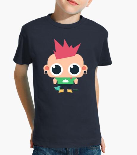 Ropa infantil Camiseta niño Rebelión (varios colores)