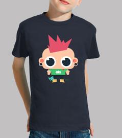 Camiseta niño Rebelión (varios colores)