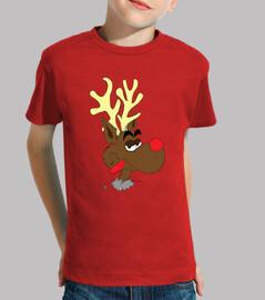 camiseta niño rudolf
