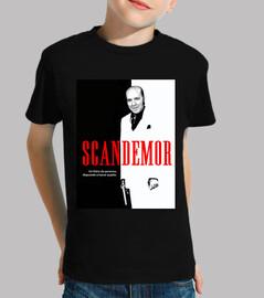 Camiseta niño Scandemor - Versión de Scarface Chiquito