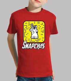 camiseta niño Thanos Snapchas