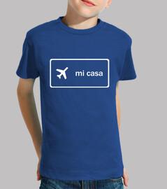 Camiseta niño/a - Mi casa