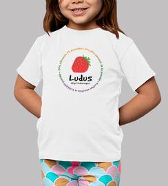 Camiseta niño/a blanca