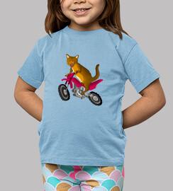 Camiseta niño/a gatocross