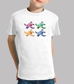 Camiseta niño/a tortugas