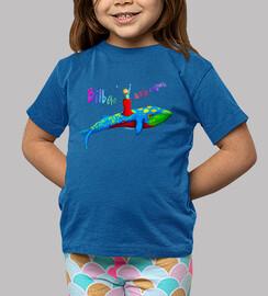 Camiseta niño/niña - azul Bilbao