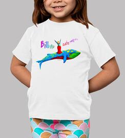 Camiseta niño/niña - blanca