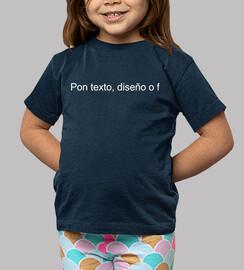 camiseta niños azul piedra conejito kawaii