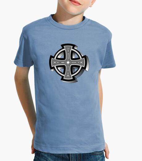 Ropa infantil Camiseta niños Cruz Célta