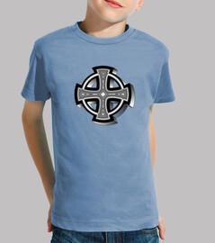 Camiseta niños Cruz Célta