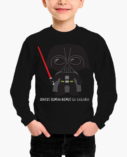 Ropa infantil Camiseta niños Darth Vader