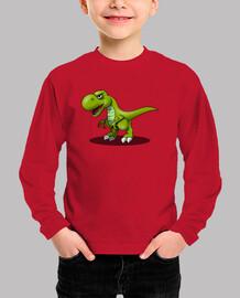 Camiseta niños Dinosaurio
