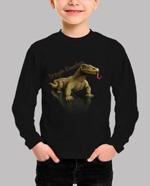 Camiseta niños Dragón komodoro1