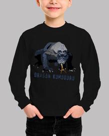 Camiseta niños Dragón komodoro2