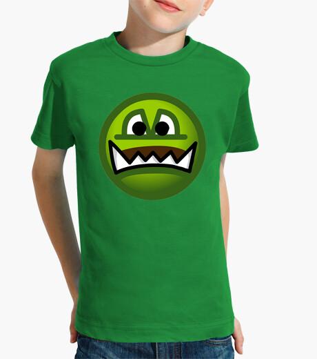 Ropa infantil Camiseta niños Emoticono Ogro