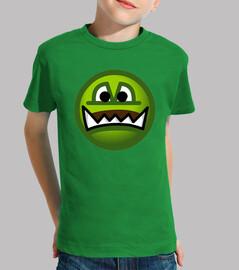 Camiseta niños Emoticono Ogro