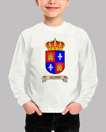 Camiseta niños Escudo Apellido Alonso