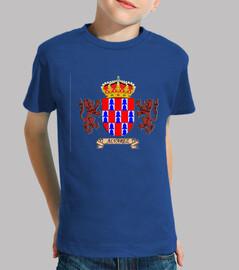 Camiseta niños Escudo Apellido Álvarez