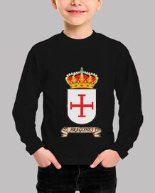 Camiseta niños Escudo Apellido Aragonés